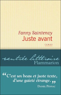 Juste avant - F. Saintenoy